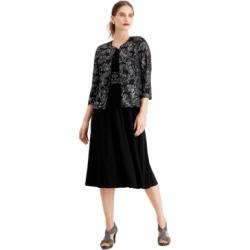 Jessica Howard Glitter Dress & Jacket found on MODAPINS from Macy's Australia for USD $51.06