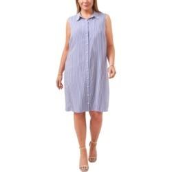 Msk Plus Size Striped Shirtdress found on Bargain Bro from Macy's Australia for USD $47.29