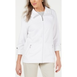Karen Scott Zip-Front Casual Knit Jacket found on Bargain Bro India from Macys CA for $31.13