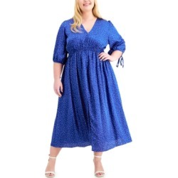 Taylor Plus Size V-Neck Maxi Dress found on Bargain Bro from Macy's Australia for USD $63.81