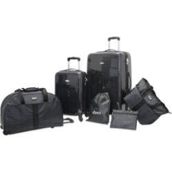 Steve Madden Signature 6-Pc. Luggage Set