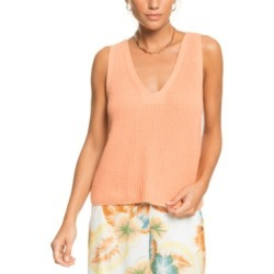 Roxy Juniors' Bright Place Sleeveless Sweater Top found on MODAPINS from Macy's for USD $45.00