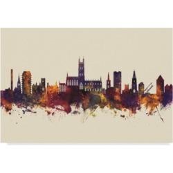 Michael Tompsett Gloucester England Skyline Iii Canvas Art - 37