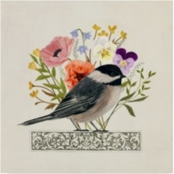 Victoria Borges Avian Collage Ii Canvas Art - 15
