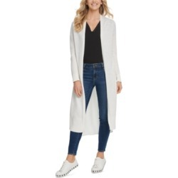 Dkny Mixed-Media Duster Cardigan found on MODAPINS from Macy's for USD $69.00