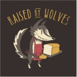 Michael Buxto Raised By Wolves Canvas Art - 36.5