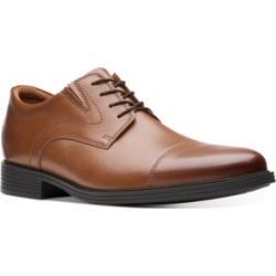 Clarks Men's Whiddon Cap-Toe Oxfords Men's Shoes found on Bargain Bro Philippines from Macy's Australia for $85.29