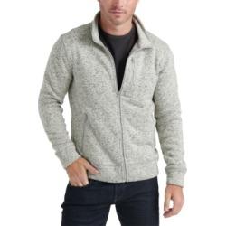 Lucky Brand Men's Miles Zip-Front Sweater
