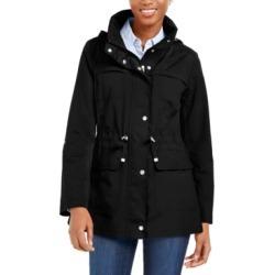 Cole Haan Packable Hooded Anorak Coat