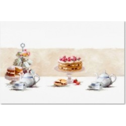 "The Macneil Studio 'Cream Tea Iii' Canvas Art - 16"" x 24"""