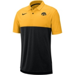 Nike Men's Iowa Hawkeyes Dri-Fit Colorblock Breathe Polo found on Bargain Bro Philippines from Macy's for $56.00