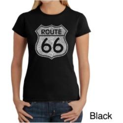 Women's Word Art T-Shirt - Route 66