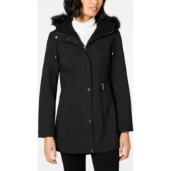 French Connection Faux-Fur-Trim Hooded Raincoat found on MODAPINS from Macy's Australia for USD $85.93
