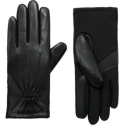 Isotoner Women's Signature Leather Touchscreen Gloves
