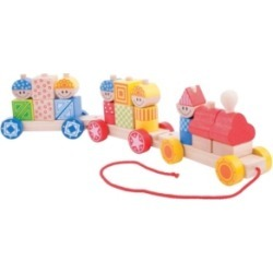 Bigjigs Toys Build Up Train