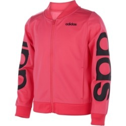 adidas Toddler Girls Linear Tricot Jacket found on Bargain Bro Philippines from Macys CA for $25.09