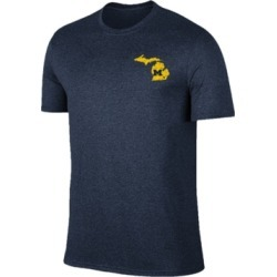 Retro Brand Men's Michigan Wolverines State Pride Dual Blend T-Shirt found on Bargain Bro India from Macy's for $19.99