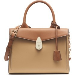 Calvin Klein Lock Leather Satchel found on MODAPINS from Macy's for USD $148.80
