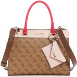 Guess Sosie Logo Status Satchel found on MODAPINS from Macy's for USD $118.00