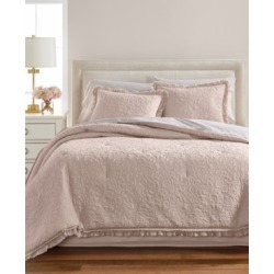 Martha Stewart Collection Crochet & Ruffle 8-Pc. Queen Comforter Set, Created for Macy's Bedding