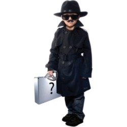 Jr Secret Agent Little and Big Boys Costume