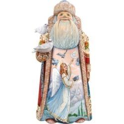 G.DeBrekht Woodcarved Polar Story Special Edition Santa Figurine