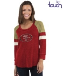 Touch by Alyssa Milano San Francisco 49ers Women's Distinct Snap Thermal T-Shirt found on Bargain Bro India from Macy's for $60.00