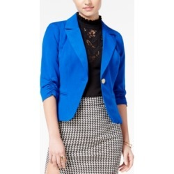 Xoxo Juniors' Ruched-Sleeve Blazer found on MODAPINS from Macys CA for USD $25.68
