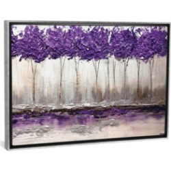 """iCanvas Purple Summer by Osnat Tzadok Gallery-Wrapped Canvas Print - 26"""" x 40"""" x 0.75"""""""