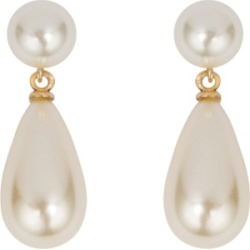 Grace Kelly Collection 18k Gold Plated Parliament Clip On Earring