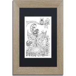 KCDoodleArt Fairy 6 Matted Framed Art - 11