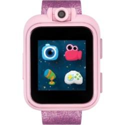 iTouch Kids PlayZoom Pink Fuchsia Glitter Strap Touchscreen Smart Watch 42x52mm