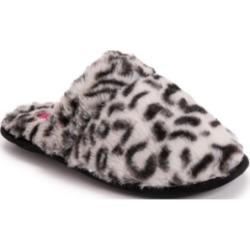 Betsey Johnson Women's Leopard Scuff Slippers