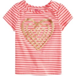Epic Threads Little Girls Striped Heart Graphic Top, Created for Macy's found on Bargain Bro India from Macy's Australia for $10.10