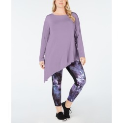 Ideology Plus Size Asymmetrical Top, Created for Macy's found on Bargain Bro India from Macys CA for $27.94