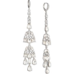 Givenchy Silver-Tone Crystal Linear Drop Earrings found on Bargain Bro India from Macy's for $31.23