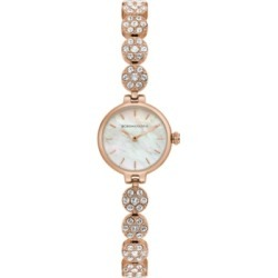 Bcbgmaxazria Ladies Rose GoldTone Crystal Bracelet with Mop Dial, 22mm found on Bargain Bro India from Macy's Australia for $120.05