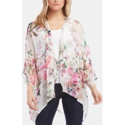 Karen Kane Printed Open-Front Kimono found on MODAPINS from Macy's Australia for USD $135.14