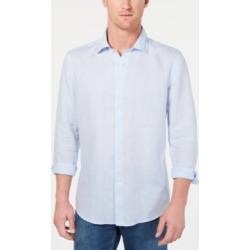 Tasso Elba Men's Long-Sleeve Linen Shirt, Created for Macy's found on Bargain Bro Philippines from Macy's for $39.99