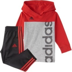 Adidas Baby Boys Long Sleeve Colorblock Hooded Tee Set found on Bargain Bro India from Macy's for $36.00