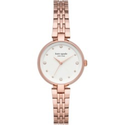 Kate Spade New York Women's Annadale Rose Gold-Tone Stainless Steel Bracelet Watch 30mm found on Bargain Bro India from Macy's for $228.00