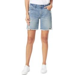 Joe's Jeans Destructed Denim Bermuda Shorts found on MODAPINS from Macys CA for USD $134.30