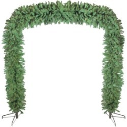 Northlight 9' x 8' Commercial Size Green Pine Artificial Christmas Archway - Unlit found on Bargain Bro India from Macys CA for $604.17