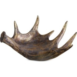Uttermost Moose Antler Bowl