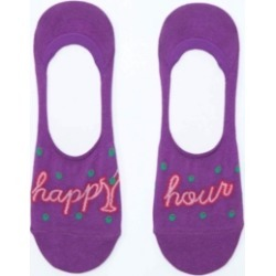 Sock It To Me No Show Happy Hour Socks