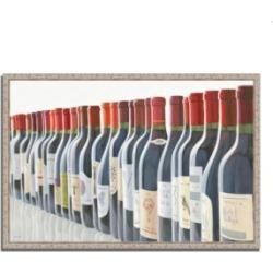 Tangletown Fine Art Splendid Reds by Marco Fabiano Fine Art Giclee Print on Gallery Wrap Canvas, 47