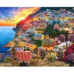 Springbok Puzzles Positano Italy 1000 Piece Jigsaw Puzzle