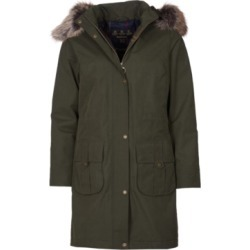 Barbour Lynn Waterproof Hooded Parka Coat found on MODAPINS from Macy's for USD $212.50