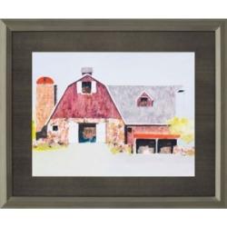 """Paragon Barn No.2 Framed Wall Art, 37"""" x 45"""""""