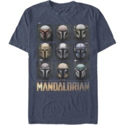 Fifth Sun Men's Star Wars Mandalorian Mando Helmet Boxup Short Sleeve T-shirt found on MODAPINS from Macy's for USD $24.99